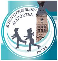Schlittschuhbahn am Altpoertel |Speyer |Weihnachtsmarkt 2018 Logo